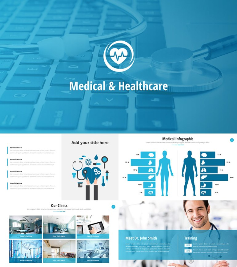 Medical and Healthcare PowerPoint Slide Theme