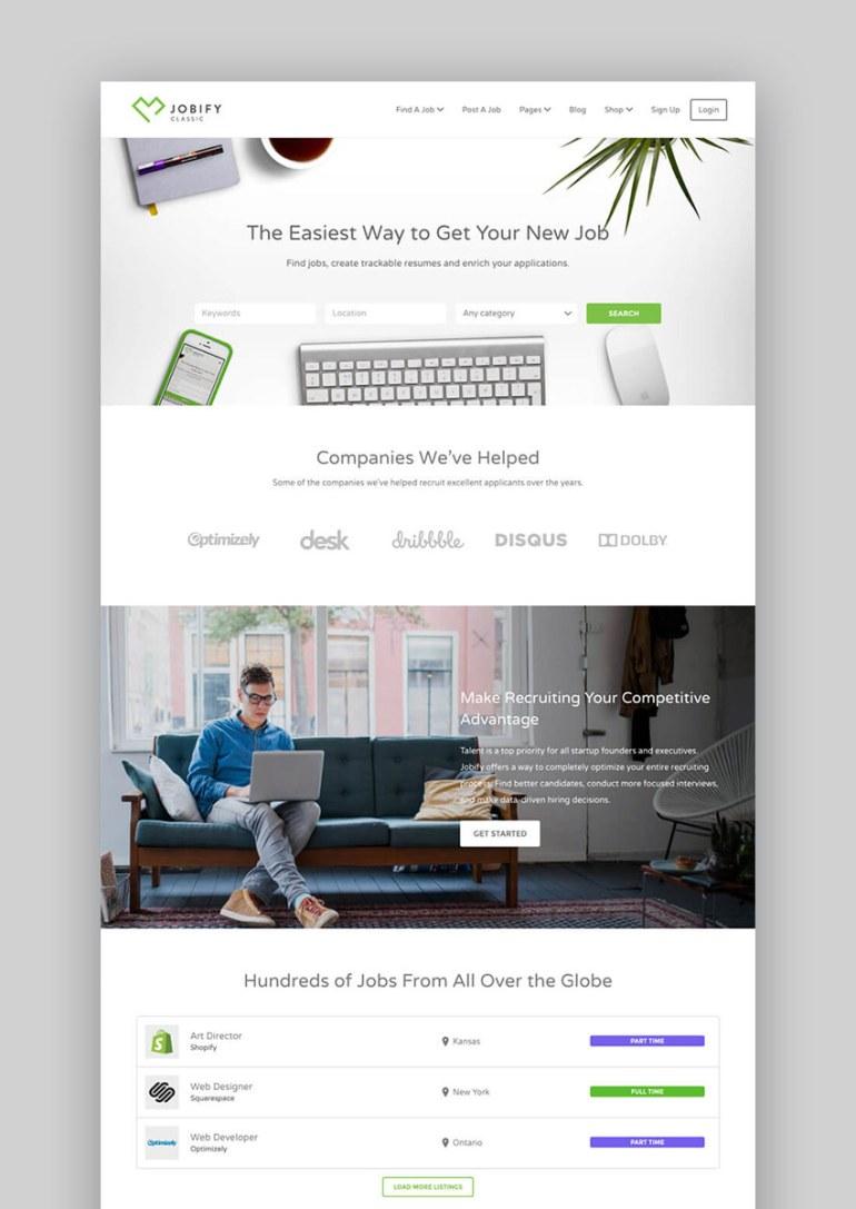Jobify WordPress Job Board Website Directory Theme