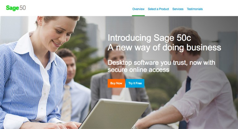 Sage 50 Online Small Business Accounting Software