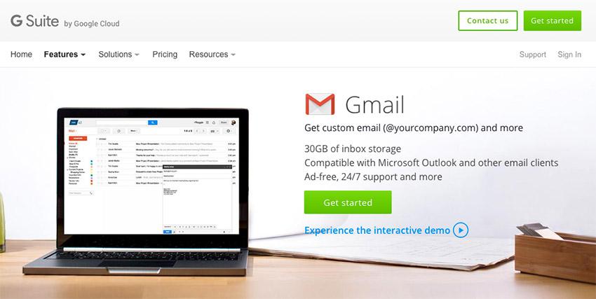 Resultado de imagen para g suite gmail