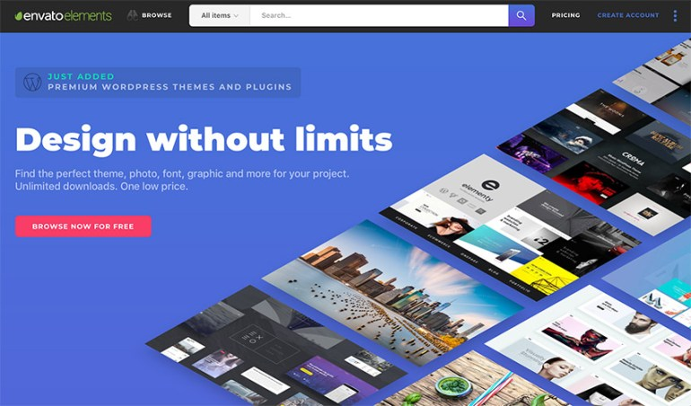 Envato Elements - Unlimited awesome modern PowerPoint templates
