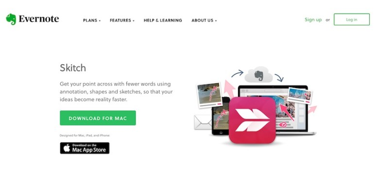 Skitch PDF software