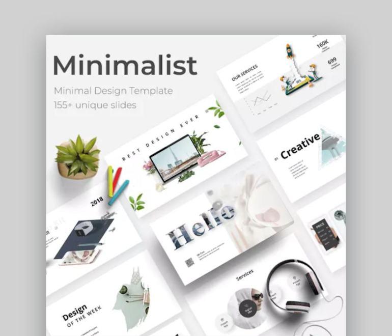 Minimalist Google Slides Theme for Teachers