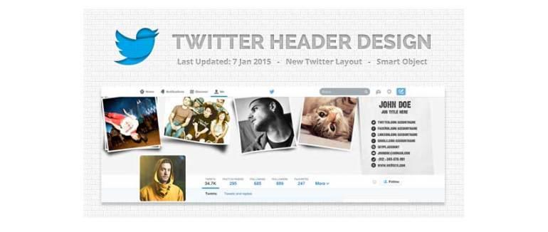 Twitter Background Design