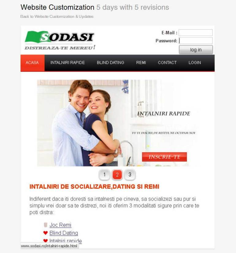 Website Customization by sodasi_web