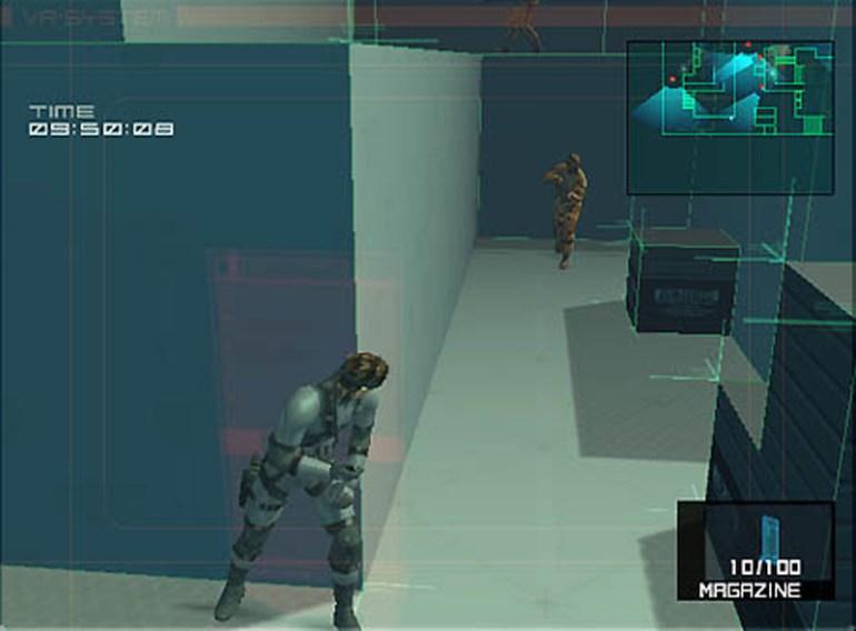 Metal Gear Solid 2 VR Missions