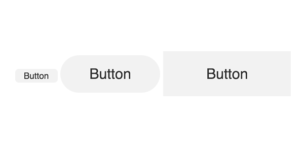 Buttons some with rounding