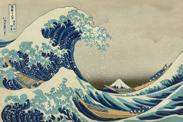 The Great Wave off Kanagawa Hokusais most famous print