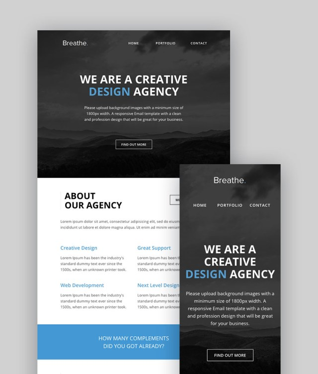 Respirare - Responsive Email Online Builder
