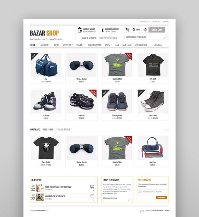 Bazar Shop - Feature-Rich WooCommerce Theme