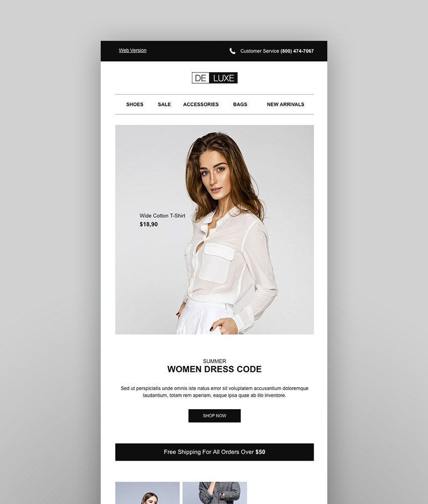 A Guide To Selecting Email Templates For Ecommerce