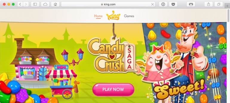 King is a leading interactive entertainment company for the mobile world