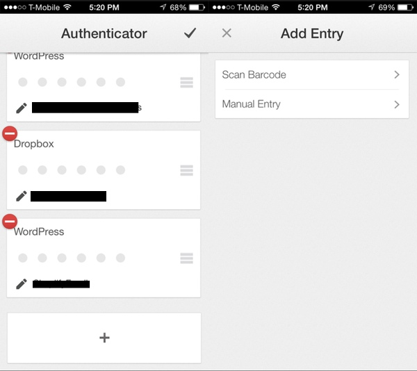 Add Your WordPress Site to Mobile Google Authenticator App