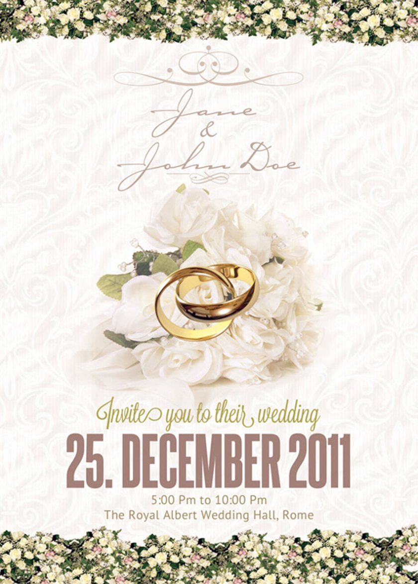 Cly Wedding Invitation