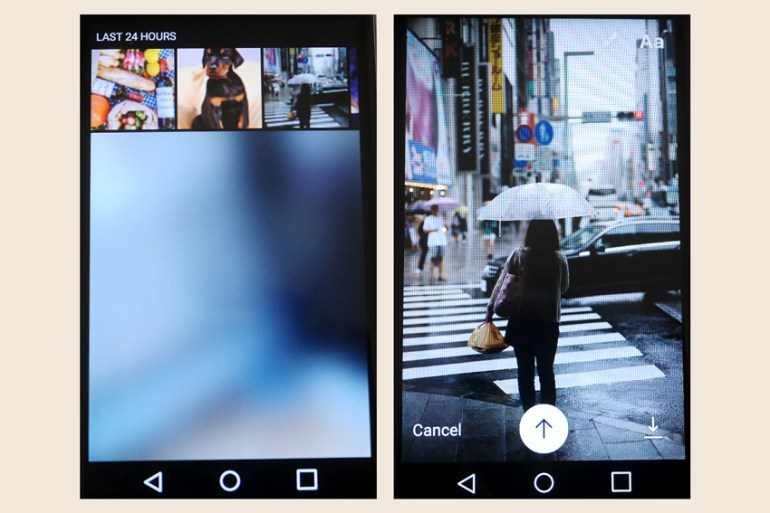 Upload From Your Devices on Instagram Stories