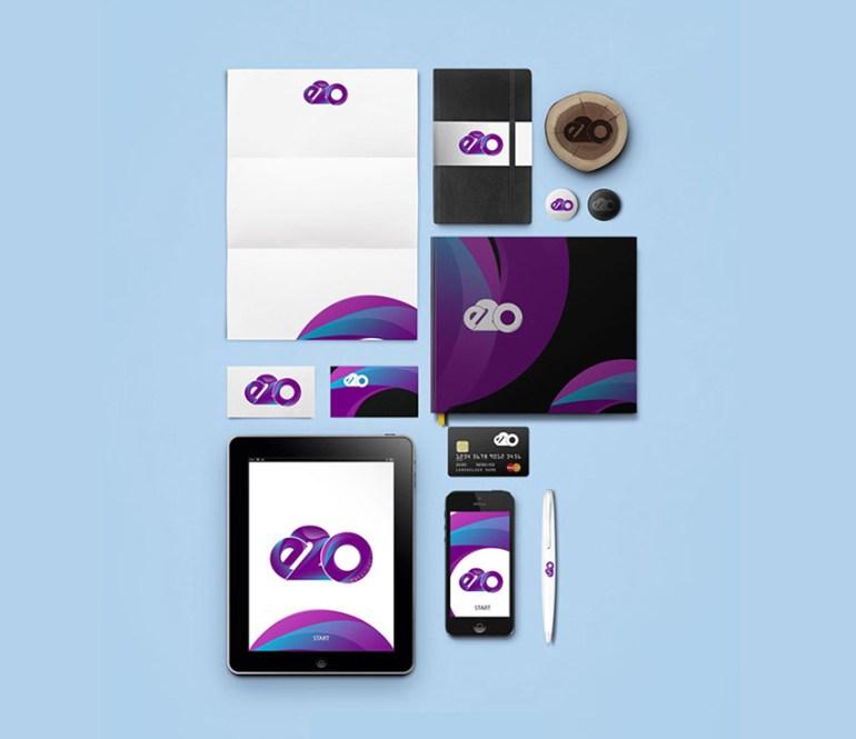 E2O Creazioni Branding by Ebunoluwa Fatogun