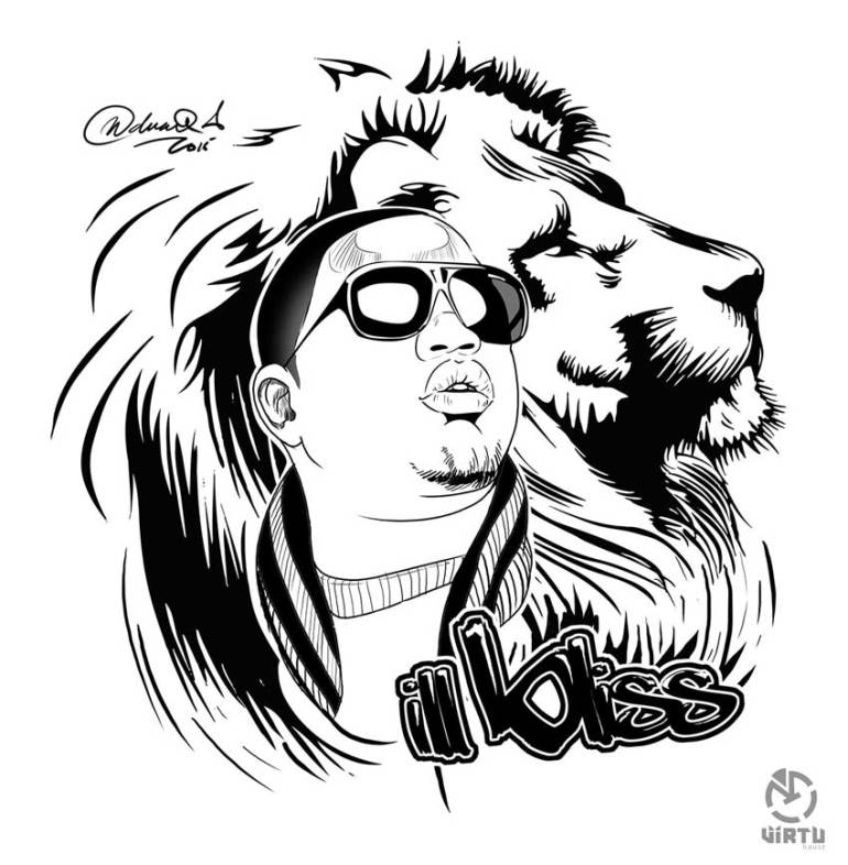 Artist Ill Bliss by Uduak Akpan