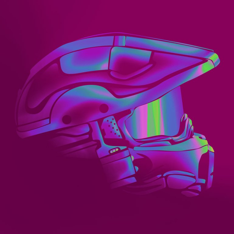 Colors - Helmet art by Jan P Reyes
