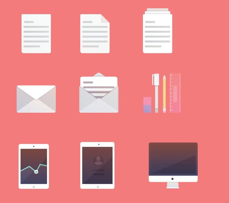 Illustrator Productivity Icons by Jane Lomas
