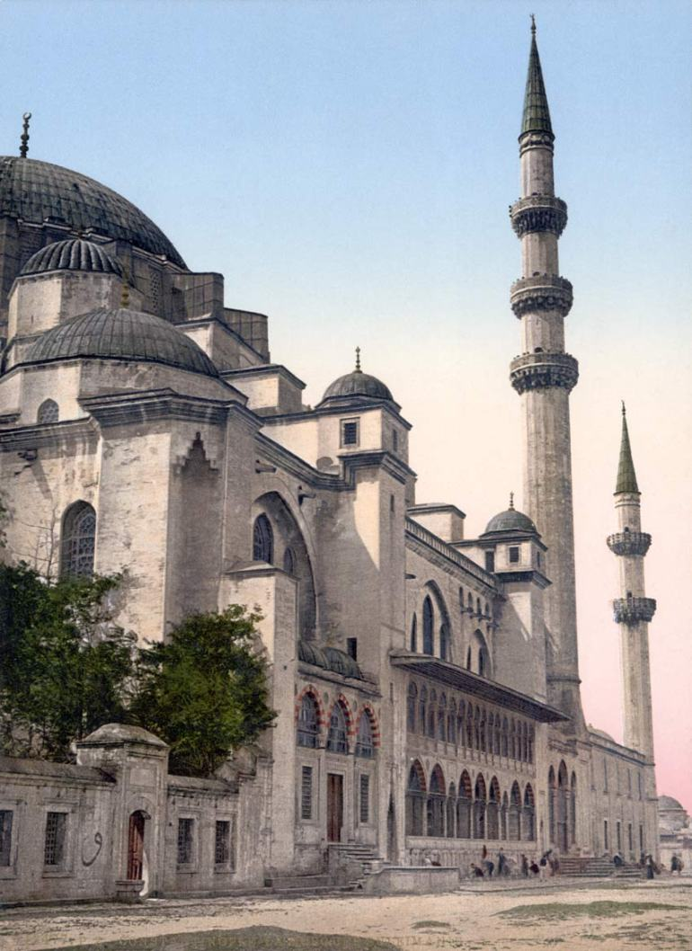 Suleiman Mosque modeled after Byzantine architecture