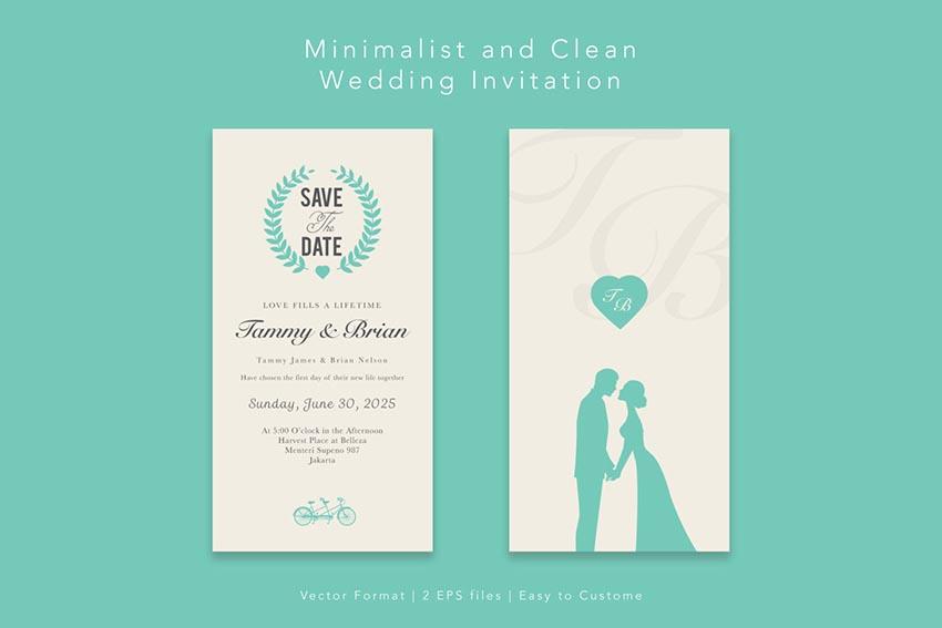 50 Template Undangan Pernikahan Yang Bergaya
