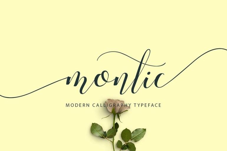 Montic Font