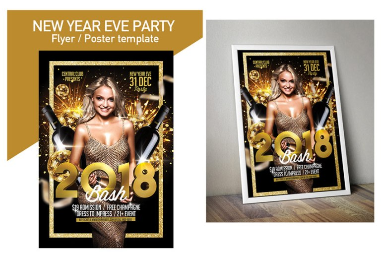 2018 New Year Flyer