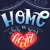 How to Create a Hand-Lettered Housewarming Poster in Adobe Photoshop