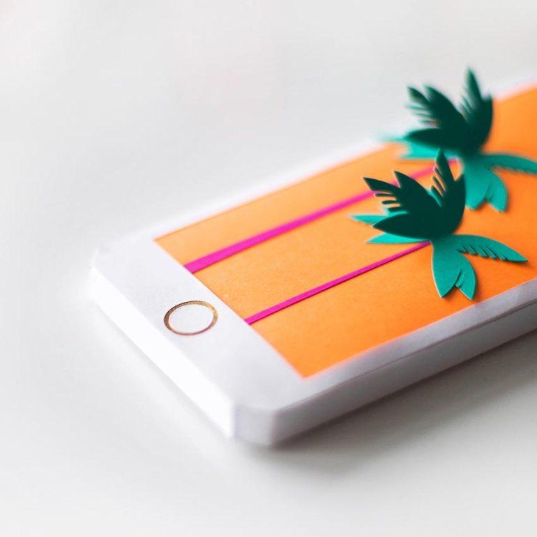 Paper Art  by Melissa Arbelaez
