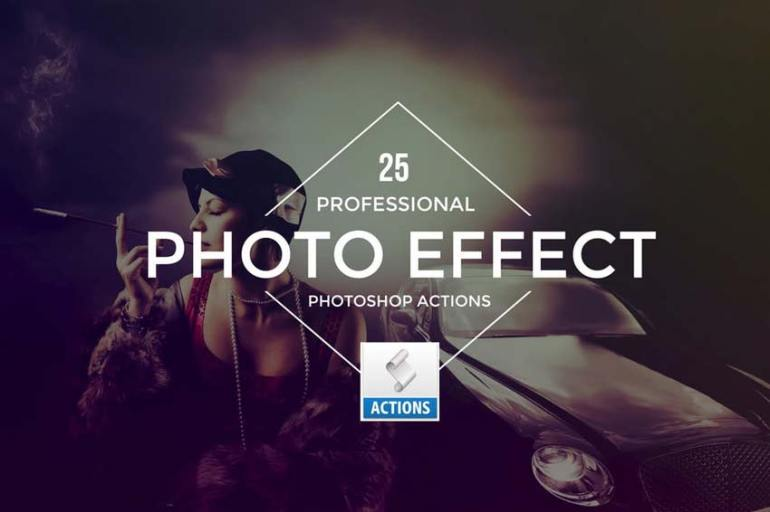 Photo Effect Photoshop Actions