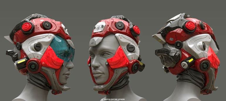 Helmet Concepts by Hristian Ivanov