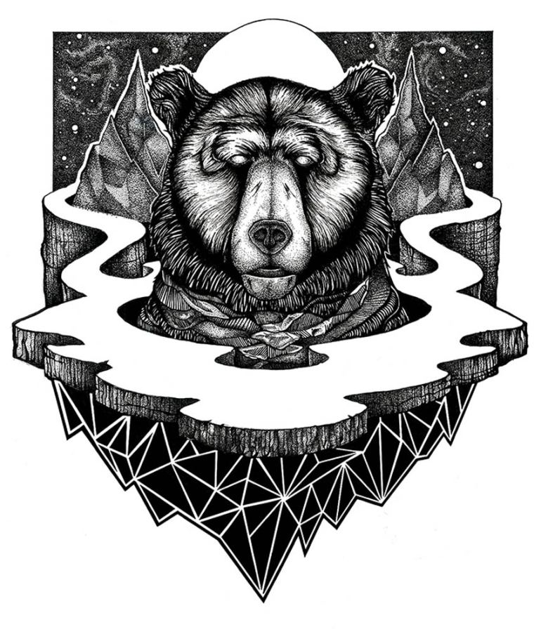 A Higher Place Art Print