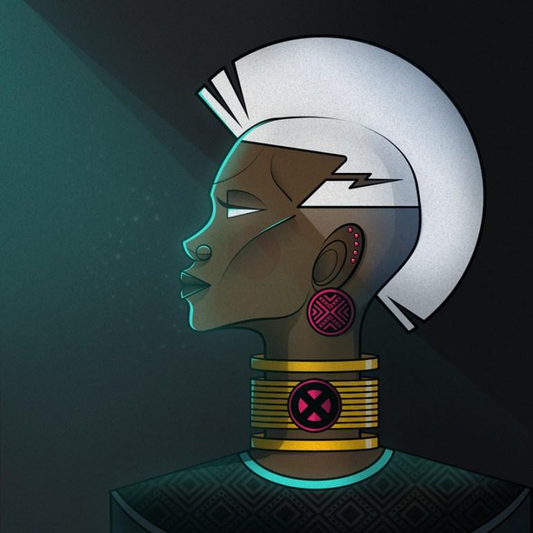 X-Men Storm by Ndumiso Nyoni