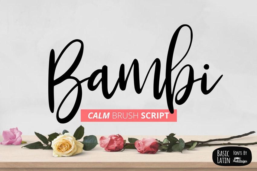 Bambi Fonts