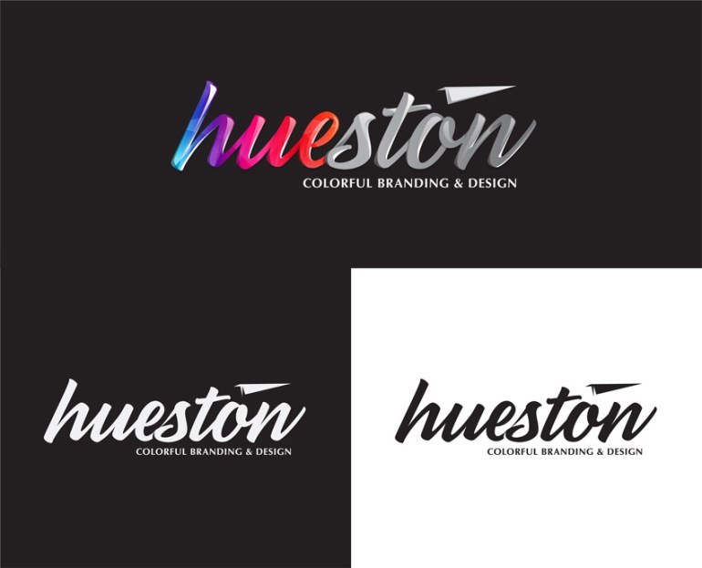Hueston Branding and Design by Mario McMeans
