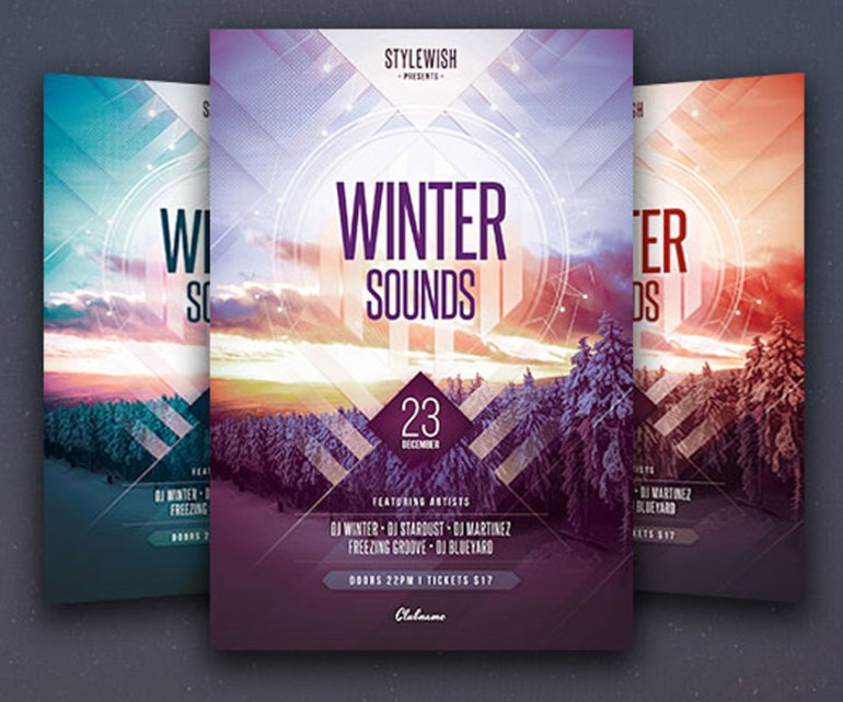Winter Sounds Flyer