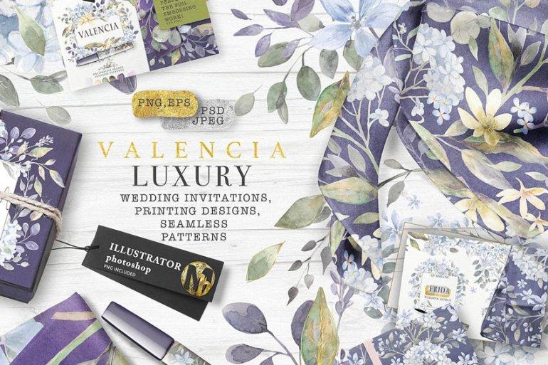 Valencia Luxury Watercolors