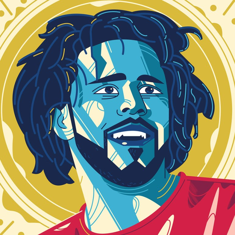 Portrait J Cole