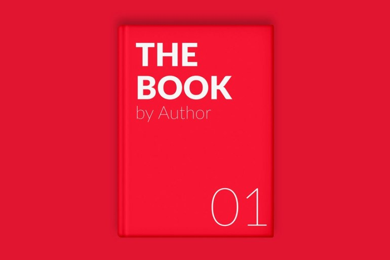 The Book Cover Minimal Mockup