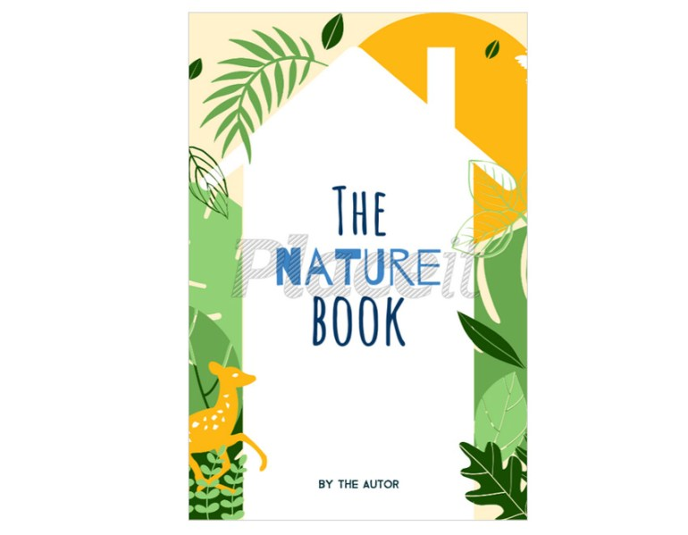 Nature Book Cover Template