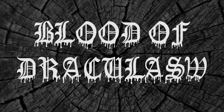 Blood Of Dracula Font