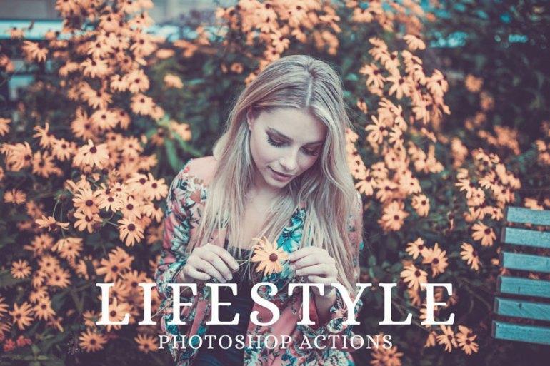 25 Lifestyle Portrait Photoshop Actions