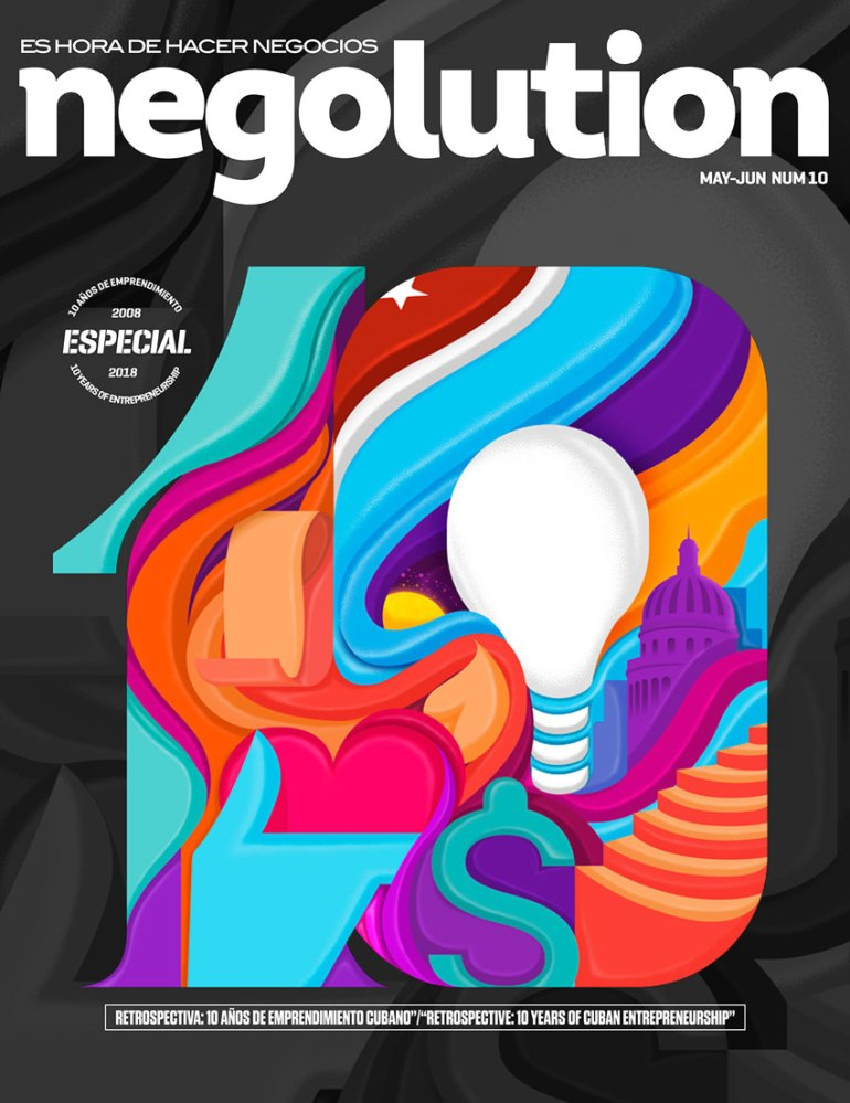 Cover Magazine Negolution 10
