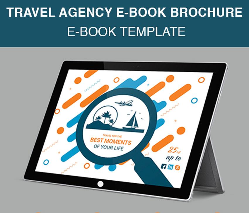Travel Agency E-Book Brochure