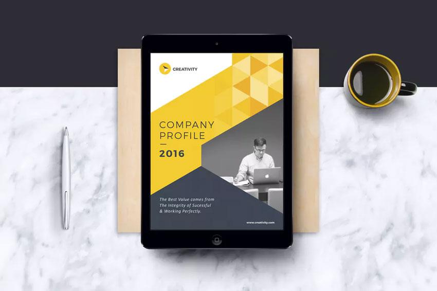 Company E-Book Template