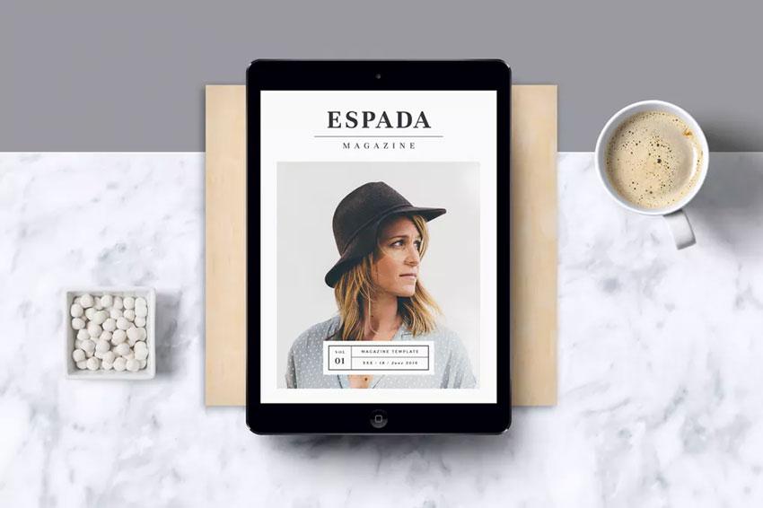 E-Magazine Template