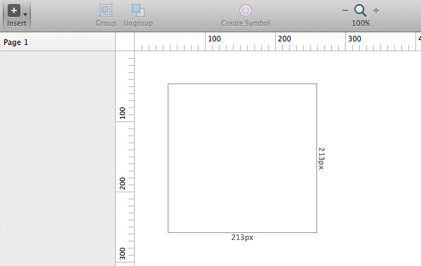 Sketch will show you width and height values while dragging