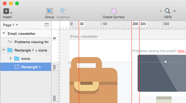 Creating a mask in Sketch