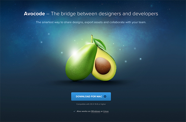Avocode website