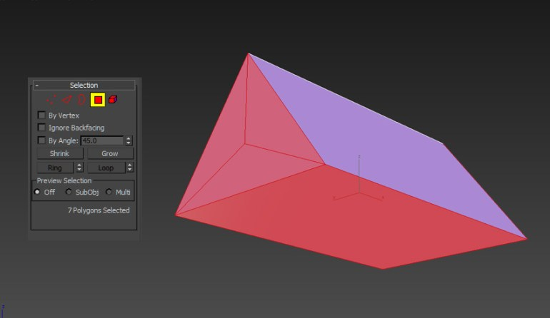Image of how the Polygon Selection Tool works